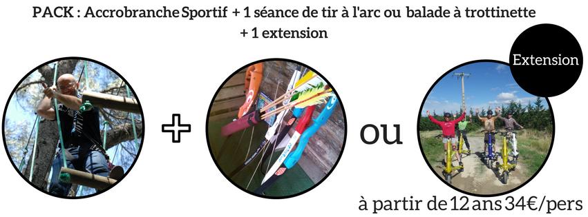 Détail pack Sportif