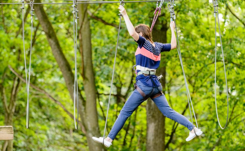 Pack panoramique foret d'acrobates accrobranche