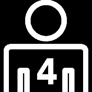 4 personnes minimum